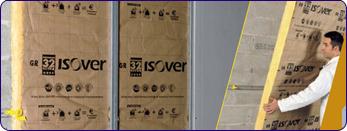 isolation thermique panneaux semi-rigides de laine de verre