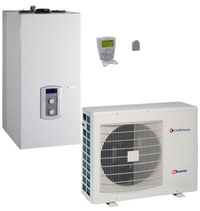 Chaudière condensation hybride