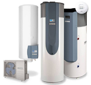 Chauffe-eau thermodynamique relié à la ventilation de Thermor