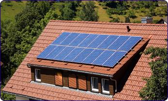 Intégration de panneaux solaires