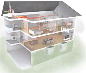 Se chauffer par la ventilation par jacques ortolas for Ventilation maison sans vmc