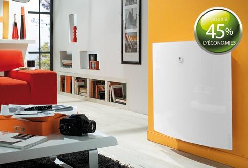 Chauffage électrique avec régulation de présence