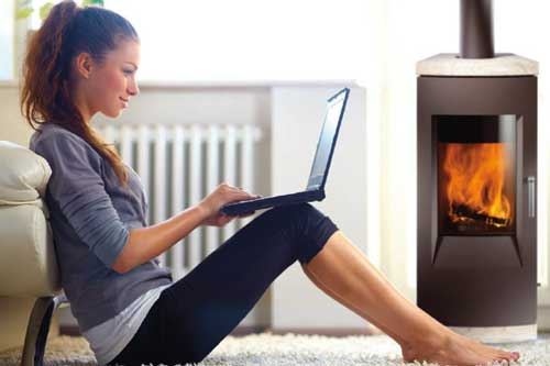Aspect esthétique et confort thermique à proximité du poêle bois