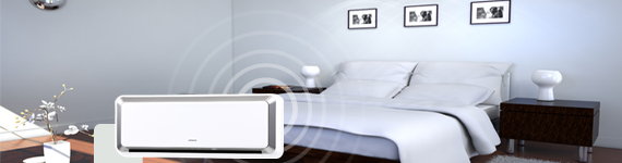 Climatiseur avec option sommeil réduisant le niveau sonore