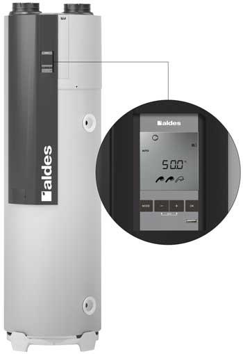 Aldes chauffe eau thermo et ventilation t flow hygro for Chauffe eau marche plus