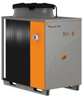 Exemple de climatiseur et pompe à chaleur fonctionnant au gaz