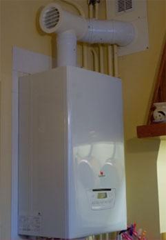 Exemple de rénovation avec chaudières à condensation et remplacement des conduits de fumées