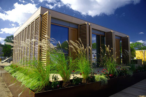 Maison éco-conçue