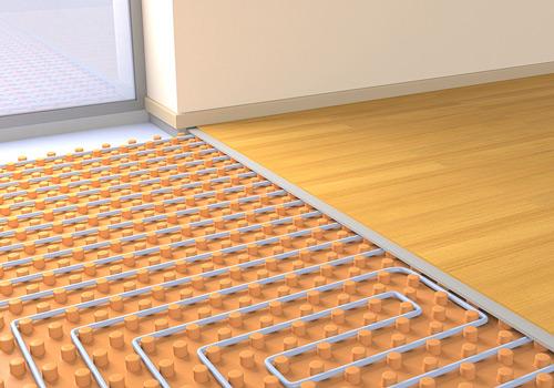 plancher chauffant basse température