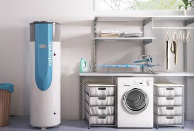 Exemple de chauffe-eau thermodynamique pour une maison individuelle