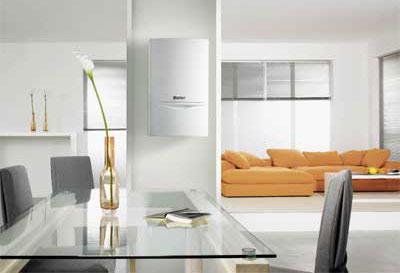Exemple de chaudière gaz à condensation pour une maison individuelle