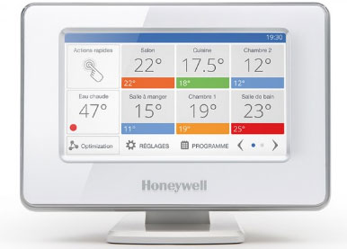 solution Evohome d'Honeywell