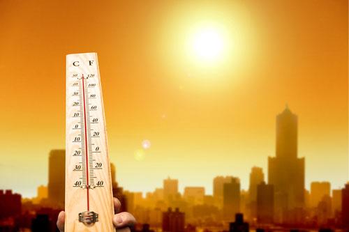Les températures extérieures augmentent et créent l'inconfort d'été