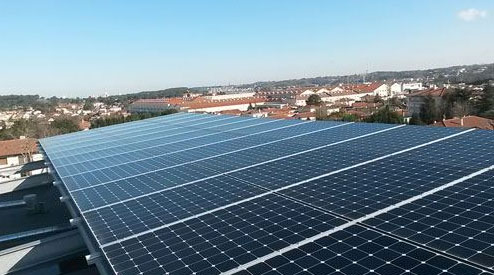 Toiture photovoltaïque de 27 logements à Anglet