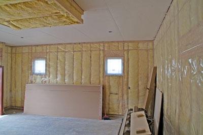 Rénovation avec nouveau isolant thermique et phonique