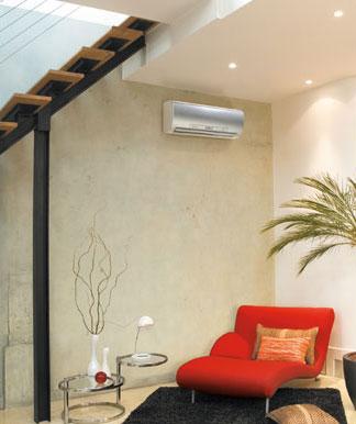 Climatiseur « intégré » dans la décoration