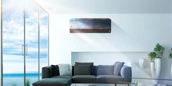 Unité murale de climatisation intégrée dans cloison