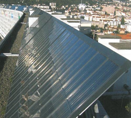 Immeubles visé par l'audit énergétique avec travaux solaires réalisés