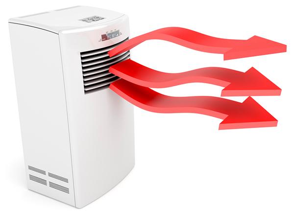 Climatiseur en mode pompe à chaleur