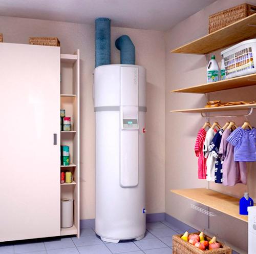 Exemple de chauffe-eau thermodynamique