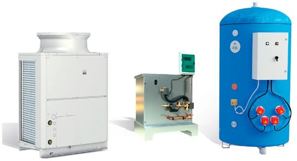 Eau chaude sanitaire collective avec une pompe à chaleur au CO2