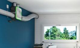 EasyHOME<sup>®</sup>, ventilation et purification d'air connectée