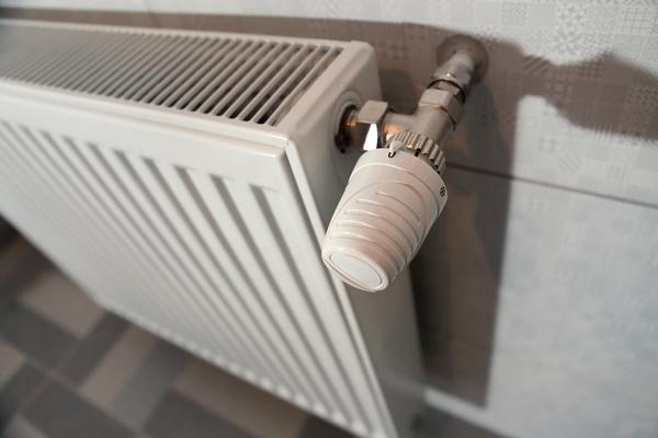 Radiateur à eau chaude en acier