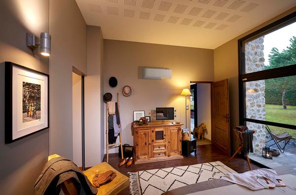 climatiseur dans une pièce de repos