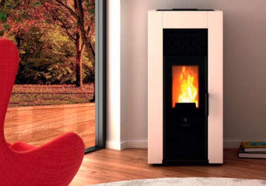 Chauffage bois esthétique