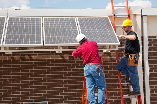 panneaux solaires installation
