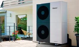 PAC monobloc air/eau haute température aroTHERM Plus