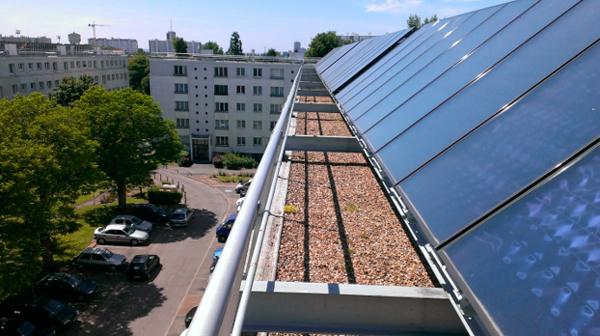 installation solaire copropriété