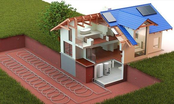 pompe à chaleur électricité décarbonnée