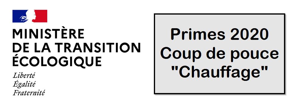 prime chauffage