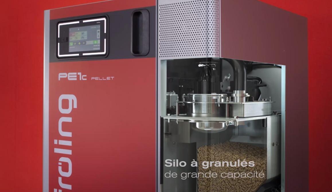chaudière automatique granulés Froling