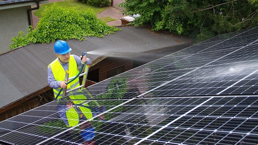 Entretien panneaux solaires