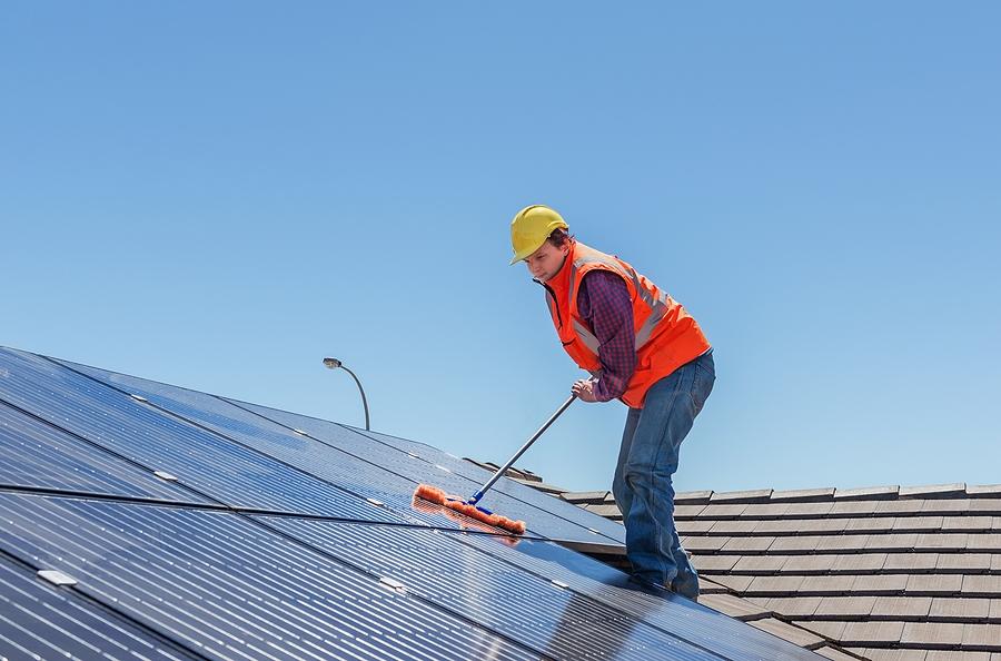 entretien panneaux solaires rendement