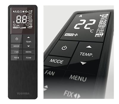 climatiseur Toshiba télécommande