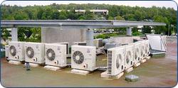 climatiseurs sur le toit