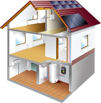 Chauffage basse conso en renovation r novation et basse conso - Consommation chauffage maison ...