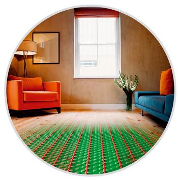 plancher chauffant rafra chissant la d co absolue par philippe nunes. Black Bedroom Furniture Sets. Home Design Ideas