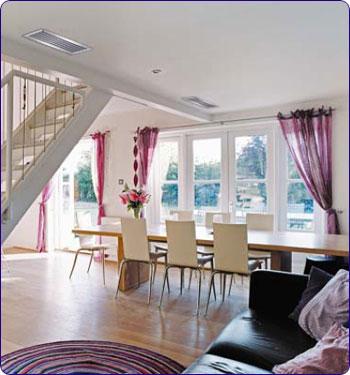 climatiseur gainable esth tique et confort recherch s par. Black Bedroom Furniture Sets. Home Design Ideas